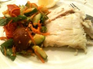 Fish for Dinner.